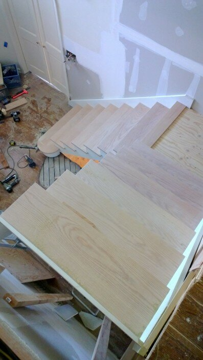custom stairs wooden