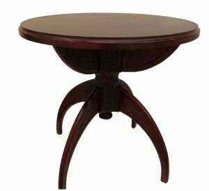 wooden table adele