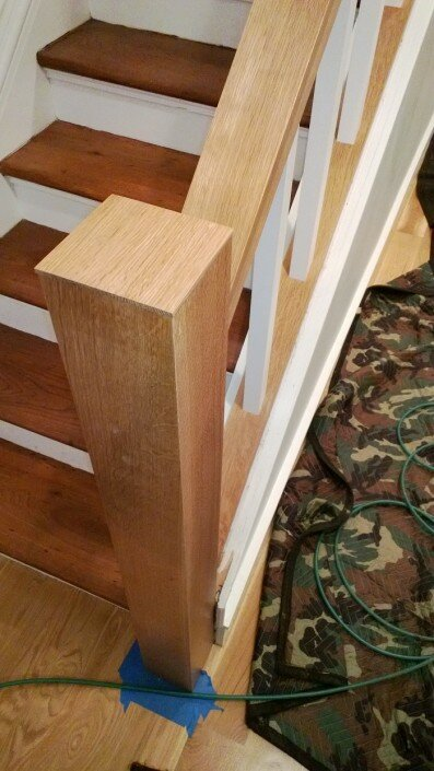 woodwork custom railing