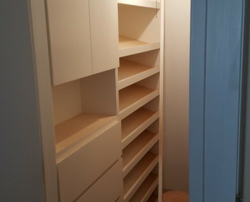 walk-in closet millwork E56th street nyc