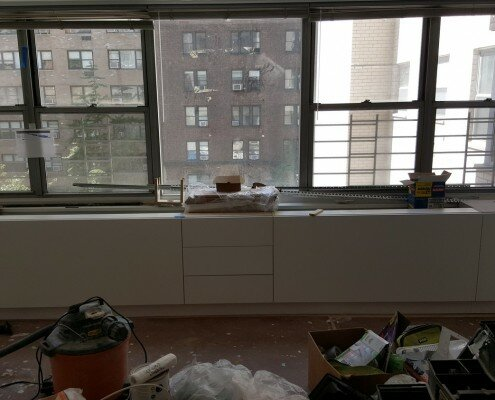 window cabinets millwork E56th street nyc