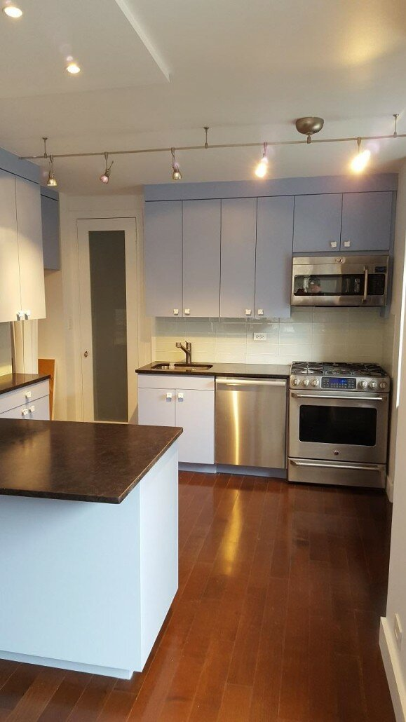 Superieur ... Kitchen Remodeling NYC   Light Blue Kitchen Cabinets